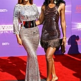 All eyes were on Bey and Kelly as they strutted the red carpet at the 2007 BET Awards.