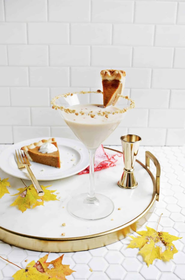 Spiced Pumpkin Pie Martini