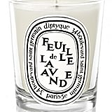 Diptyque's Feuille de Lavande mini candle ($28) smells absolutely amazing. Trust us, you won't be disappointed.