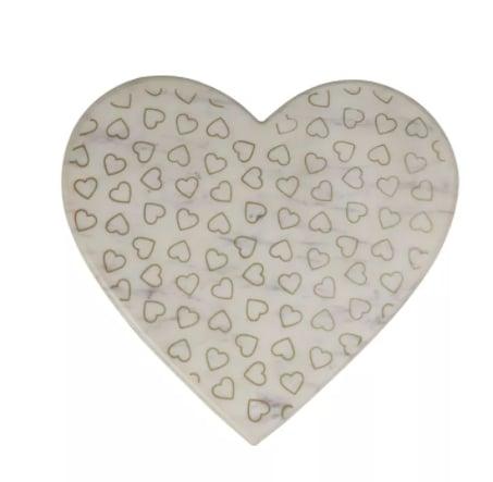 Marble Heart Cutting Board