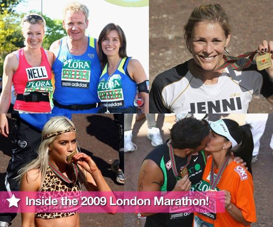Photo Slideshow of Celebrities Who Ran the London Marathon 2009