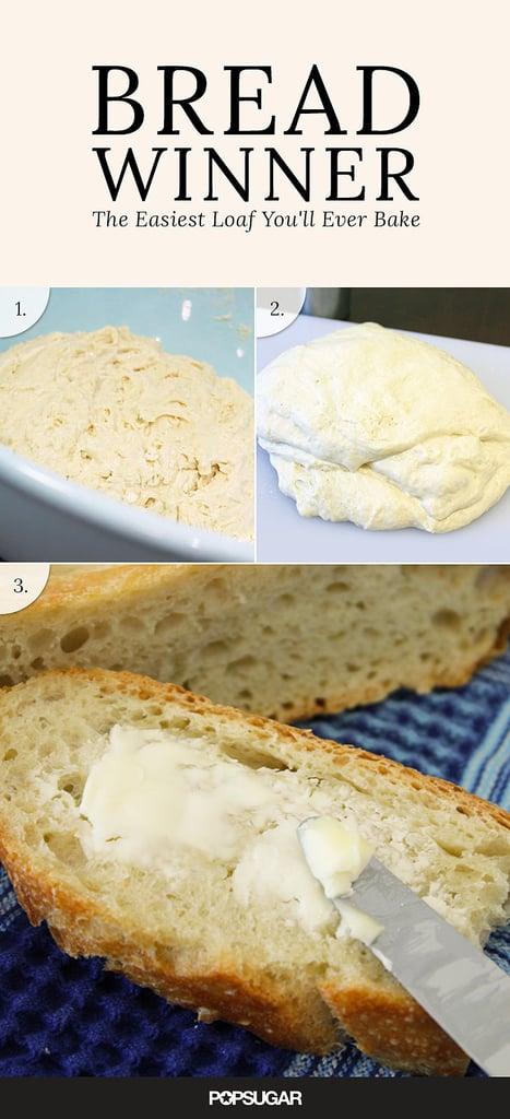 Mark Bittman's 3-Ingredient No-Knead Bread