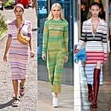 Spring Fashion Trends 2020: Striped Knit Dress
