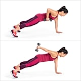 Plank With Row and Kickback