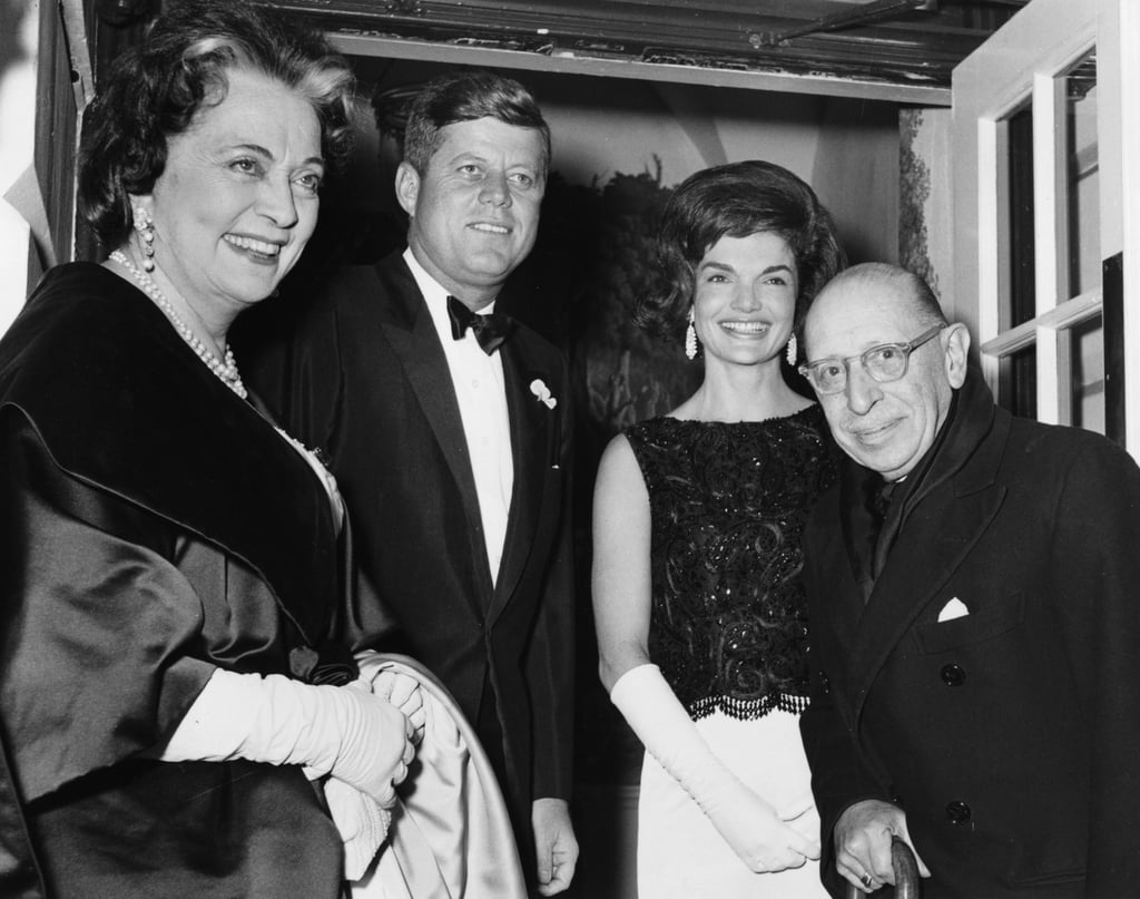 She Met JFK Through a Mutual Friend