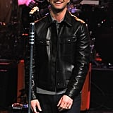 Justin Timberlake performed on Late Night With Jimmy Fallon.