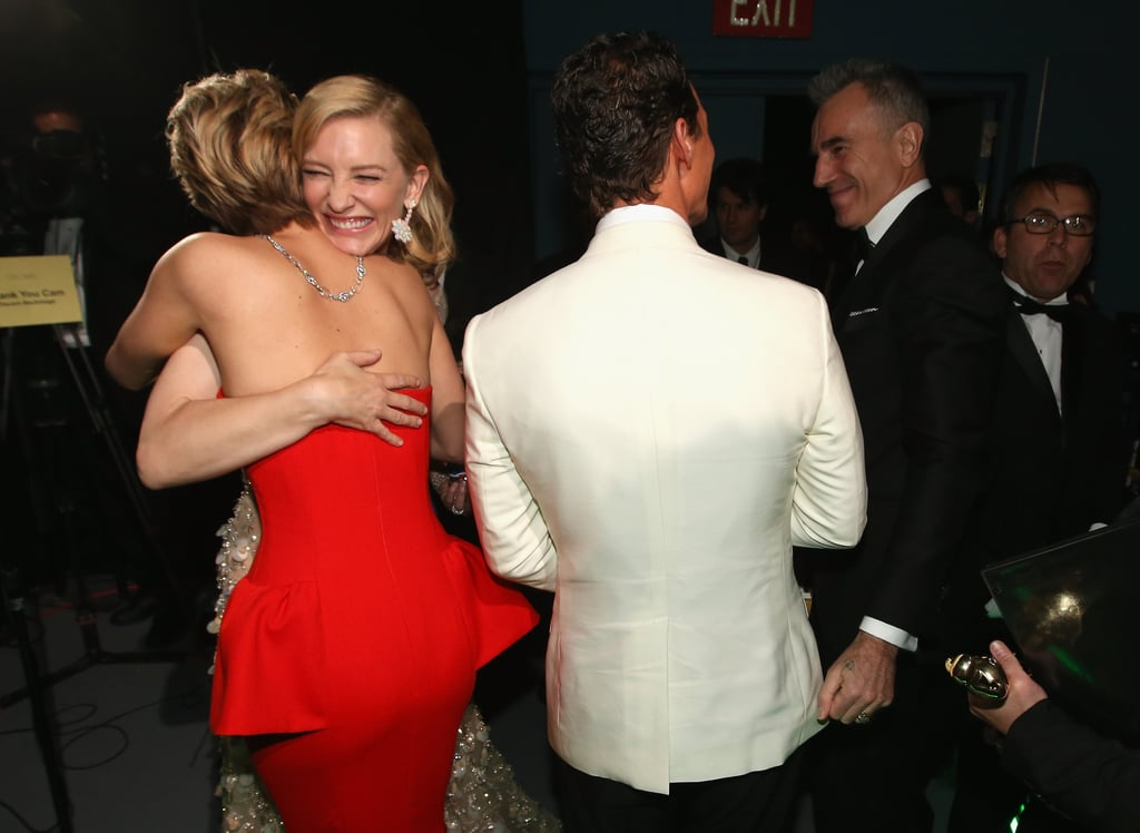 And Congratulated Cate Backstage