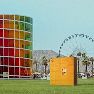 Amazon Lockers Coachella