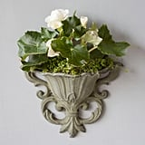 Iron Wall Planter ($38)