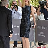 Nicole Kidman in Black Sequin Dior Dress