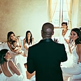 And, Finally, They Both Had Prime Seats at Kim and Kanye's Wedding