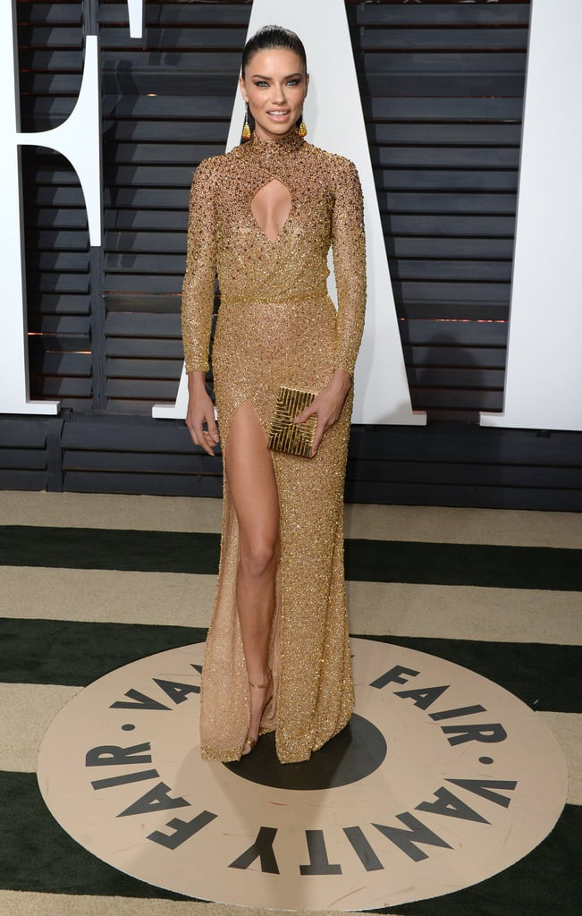 February at the Vanity Fair Oscars Party in Los Angeles