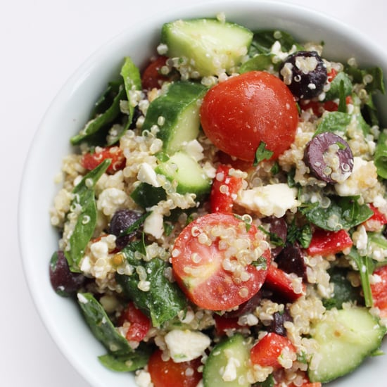 How to Make a Mediterranean Diet Salad