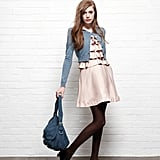 Soft colours create an innocent look, even if you're not!