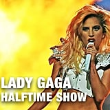 Lady Gaga Performing at the NFL Halftime Show in 2017