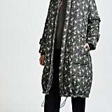 Show your feminine side a pretty/puffy mashup like this Sea Floral Printed Puffer Coat ($785).