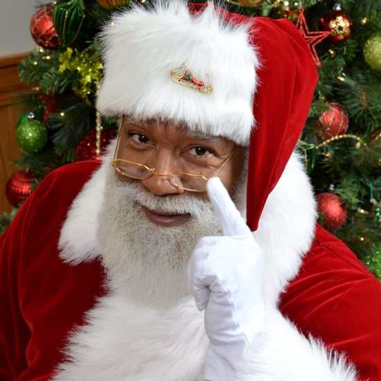 First Black Santa Mall of America (Video)