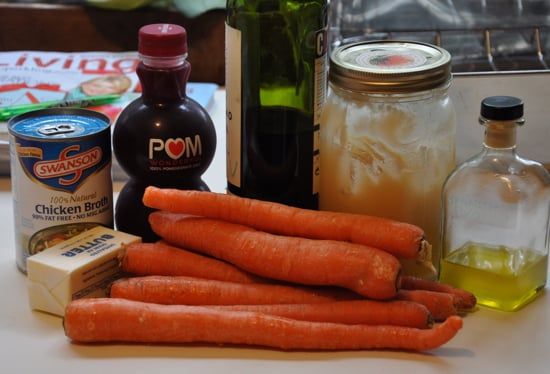 glazed carrots pomegranate balsamic glazed carrots recipes dishmaps ...