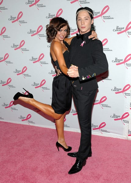 Dancer Karina Smirnoff and Johnny Weir