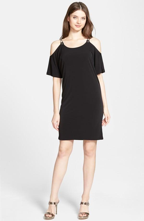 MICHAEL Michael Kors Chain Strap Cold Shoulder Dress ($120)