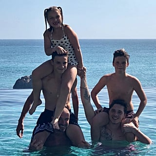 Victoria Beckham Family Holiday Photos August 2018