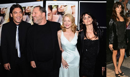 Red Carpet Photos of Penelope Cruz and Javier Bardem From NYC Premiere of Vicky Cristina Barcelona