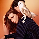 "Edun riffs on the ""birds of prey"" ideology pretty literally for Fall 2012."