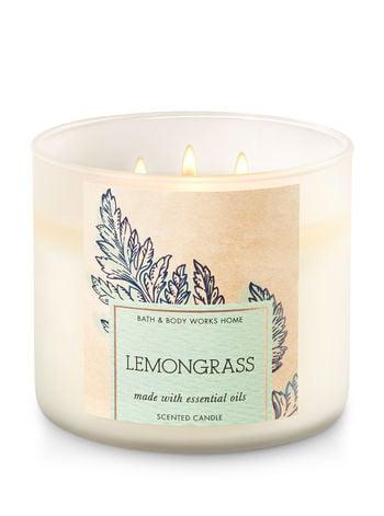Lemongrass candle ($25)