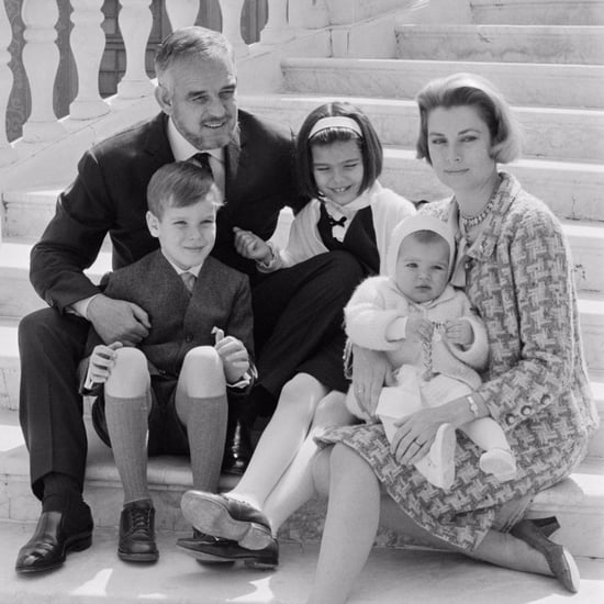 Grace Kelly and Prince Rainier III Family Pictures