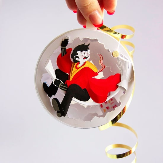 Harry Potter Paper Ornaments
