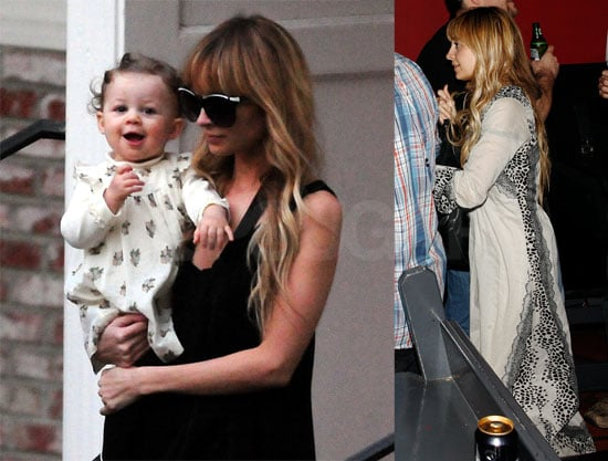 Photos of Pregnant Nicole Richie, Jennifer Meyer, Ruby Maguire, Harlow Madden in LA