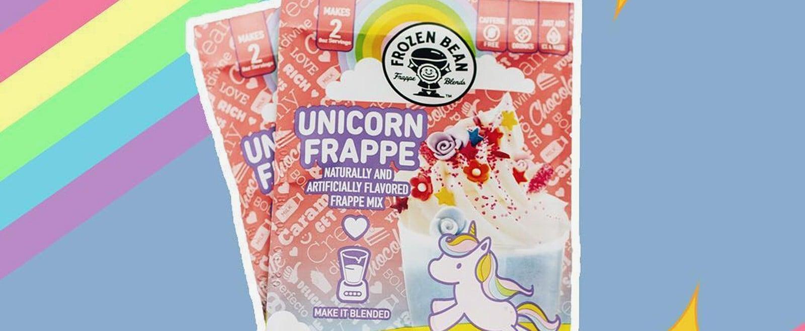 Frozen Bean Unicorn Frappe Mix at Walmart