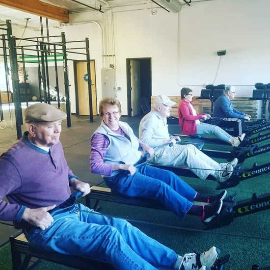 CrossFit Class For Seniors