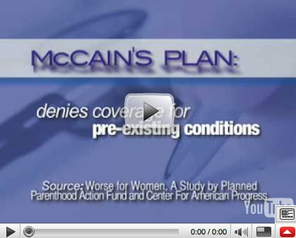 Briefing Book! Planned Parenthood Airs Ad on Women's Health