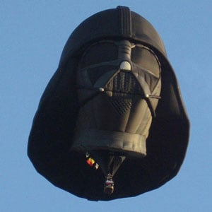 Darth Vader Hot Air Balloon Picture