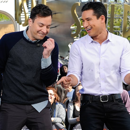 Jimmy Fallon on Extra With Mario Lopez | Video