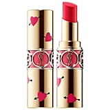 Yves Saint Laurent Heart and Arrow Collector Rouge Volupté Shine Lipstick