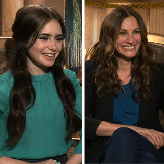 Julia Roberts & Lilly Collins Mirror Mirror Interview (Video)