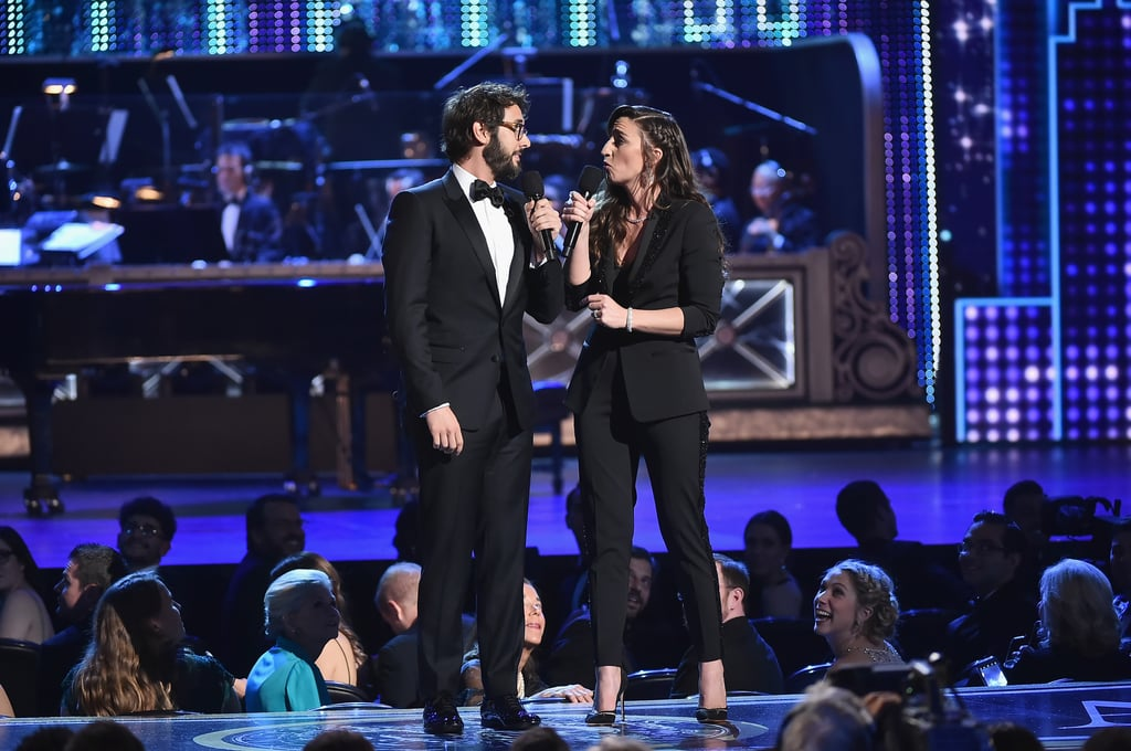 Josh Groban and Sara Bareilles