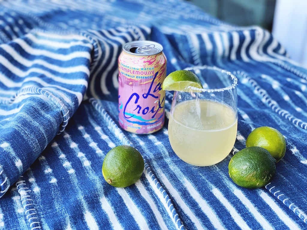 Grapefruit LaCroix + Tequila + Lime Juice + Grand Mariner