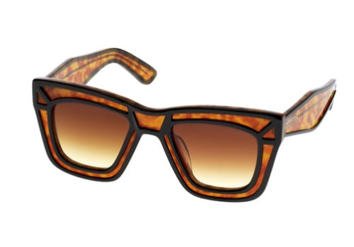 Ksubi's Modern Frames are Printed with Leopard Spots
