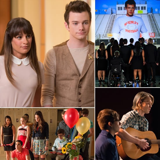 Glee Pictures of Cory Monteith Tribute Episode