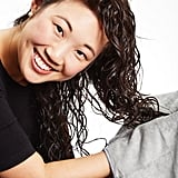 Towel-Drying Hair