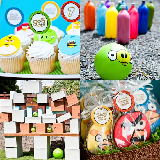 An Angry Birds Birthday Party