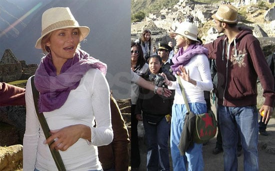 Cameron's Fashion Choices Get Her In Trouble In Peru