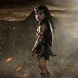 Nellee as Wonder Woman.