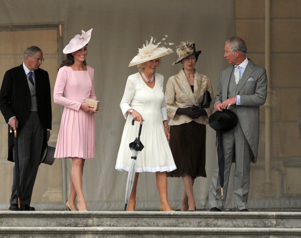 First Buckingham Palace Garden Party