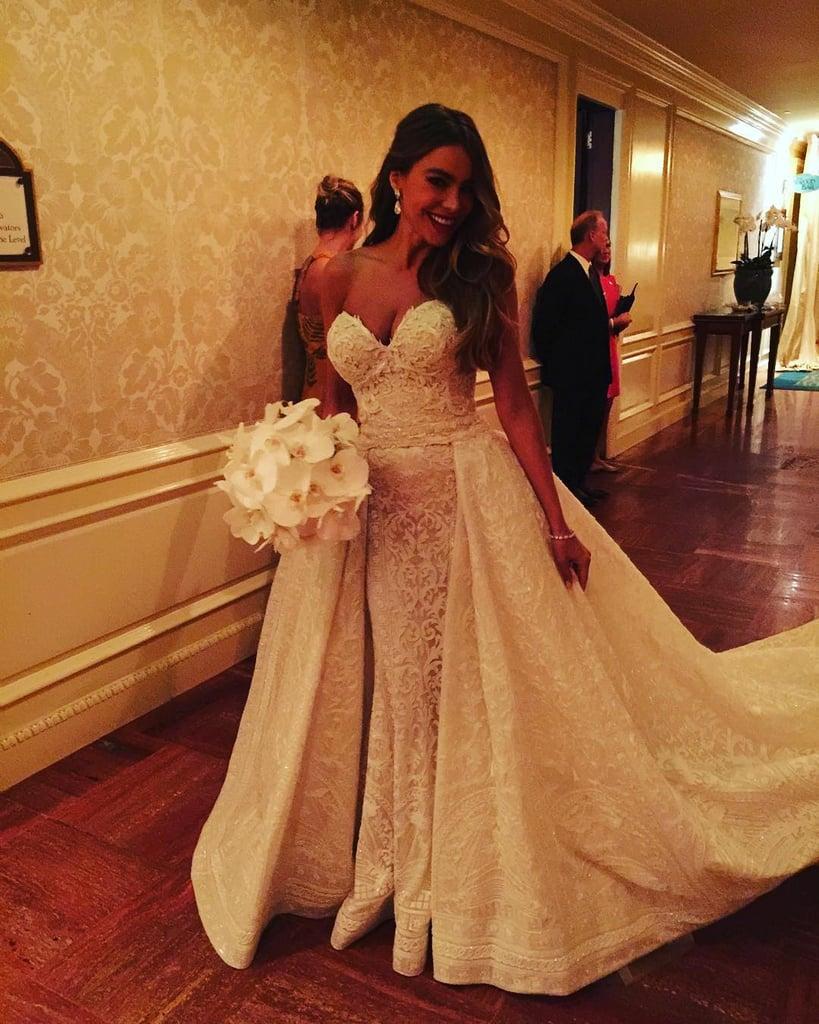 Sofia Vergara Wedding Dresses