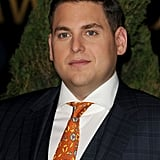 Jonah Hill at the 2012 Oscar nominees lunch.
