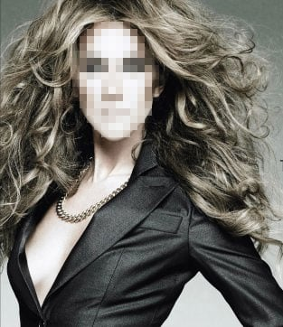 Guess Who? A Singer's Big, Bouncy Mane